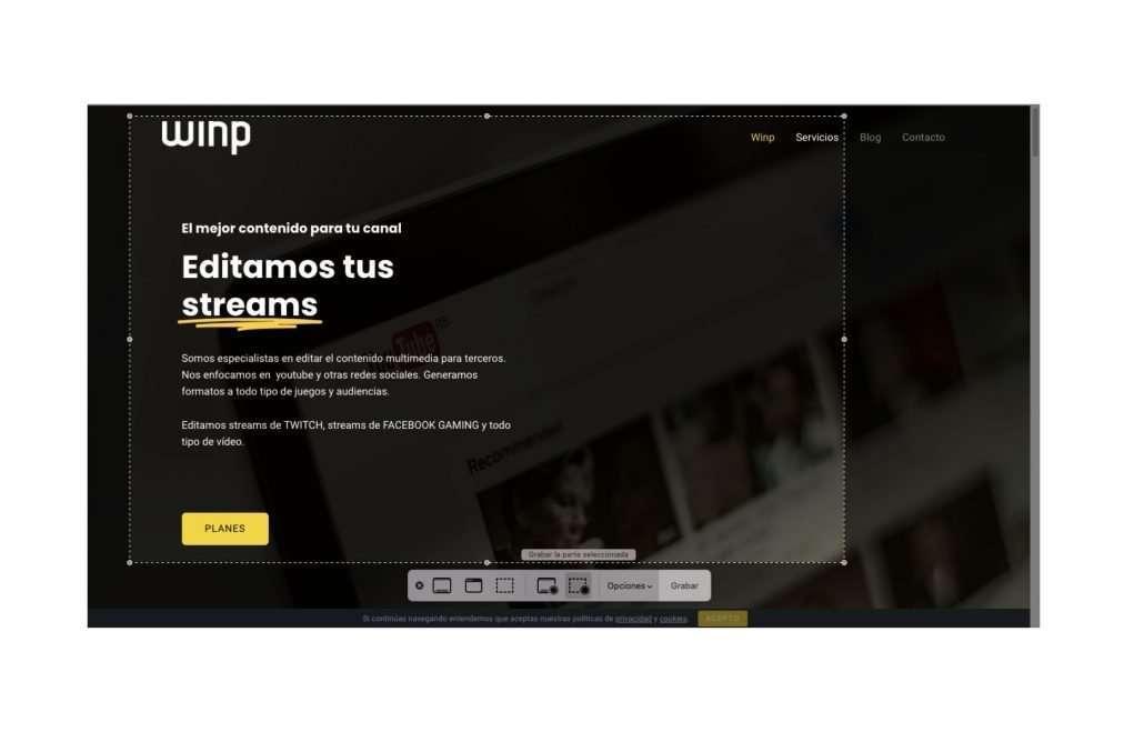 grabaciones pantalla mac